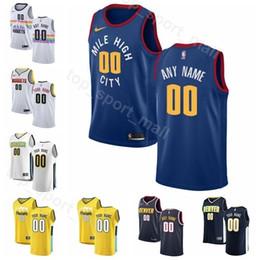 f47331351 Printed Man Kids Woman Denver Basketball Nuggets Will Barton Jersey 5 Malik  Beasley 25 Monte Morris 11 Trey Lyles 7 Mason Plumlee 24 basketball jersey  ...