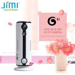 Telecamere ir cut online-Jimi JH09 3G Wireless IR-Cut Camera 720P Wifi Sorveglianza P2P Baby Monitor Supporto Micro SD Card 64G Remote View.