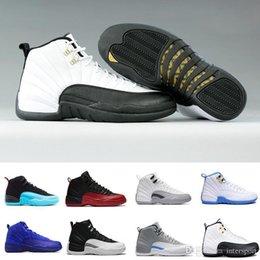 2019 vidrio de aire gs 12 12s zapatos de baloncesto de los hombres de las mujeres ventilar deportivo calzado deportivo entrenador negro whtie retro Armada Colegio G Copa de 2003 zapatillas de deporte Milán NYC vidrio de aire gs baratos