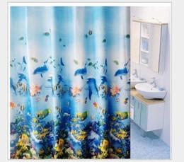 eco amigável espessamento chuveiro cortina Desconto Cortina de chuveiro opaca cortina de chuveiro impermeável de alta qualidade do mildew