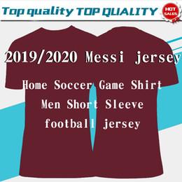 Месси футбольный трикотаж онлайн-2020 # 10 MESSI # 21 F.DE JONG Футболки для дома вдали желтые 19/20 # 17 GRIEZMANN # 9 SUAREZ # 4 RAKITIC Club Футбольная форма