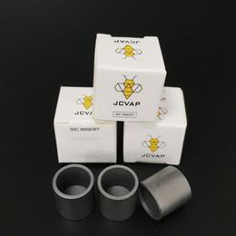 JCVAP Cerâmica De Carboneto De Silicone SIC Inserir SIC Tigela para Puffco Pico Sem Chazz Atomizador De Substituição De Cera Vaporizador Coilless Tecnologia de