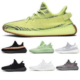 Adidas yeezy 350 V2  F36980 yeezyIncrementoV2 Scarpe da corsa Sesamo Zebra Cream Bred Beluga 2.0 Blue Tint Semi Frozen Sneakers sportive da donna per uomo da pesce scarpa china fornitori