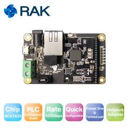 Toque de vídeo on-line-Placa de desenvolvimento WisPLC Pro, módulo PLC, linha de alimentação / par trançado / interface Ethernet | 500Mbps, suporte a adaptador de rede