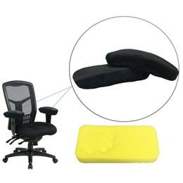 tappetini per mouse Sconti Cuscini braccioli per sedie Cuscino da polso per mouse e cuscini imbottiti per schienale Momery con tessuto antiscivolo Cuscino per gomiti Cuscino universale LJJS259