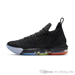ff00f50ef85 lebron shoe laces 2019 - Cheap Womens lebron 16 basketball shoes for sale  Promise Black Multi