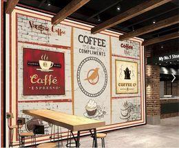 Papel de parede personalizado on-line-3d papel de parede personalizado foto mural personalizado café nostálgico ferramental fundo home decor sala 3d murais de parede papel de parede para paredes 3 d