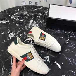 Deutschland Ace Schuhe Designer-Schuh-beiläufige Turnschuhe Luxuxstickerei-Bee Blumen Tiger Fruit Drachen Männer und Frauen Turnschuhe 20IIGucciFrauen Versorgung