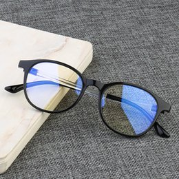 2019 tendencias de la computadora Moda Anti Blue Light Glasses Mujeres Hombres Anti Radiation Computer Anteojos Gaming Goggles Trend blue ray Eyewear rebajas tendencias de la computadora