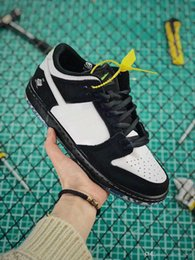 huge discount 3baf9 496f9 2019 SB Casual Schuhe für Herren Damen Designer Sneakers dunk 1 Niedrig  Staple x SB Dunk Panda Pigeon Skate Schuhe SCHWARZ Laufschuhe