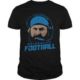 green football clothing UK - Motor City Football Shirt Hipster O-Neck Cool  Tops Hip 4a91f58a2