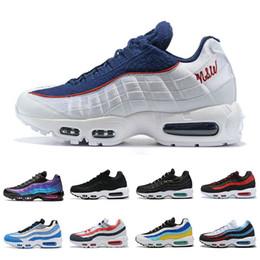 nike Air Max 95 airmax 95 shoes Fashion Style Laser Fuchsia Kissen Laufschuhe Männer Frauen Art kühlen Triple Weiß, Gelb, Schwarz, Rot, Turnschuhe