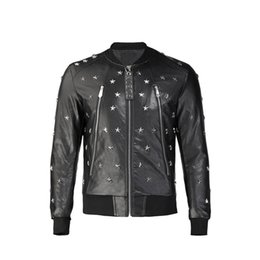19fw neuen Männer Designer Jacke Druck Luxus Jacke Multi Size schwarz Windsor Bestseller Mode Herren Lederjacke q2