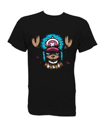 Helicóptero on-line-Camiseta t-shirt Chopper One Piece Anime XS-S-M-L-XL Tamanho Discout Hot Novo Tshirt Tees Personalizado camisa de t ...