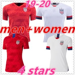 camisas americanas para Desconto american usa womens mens designer t shirts 2019 2020 usa kids soccer jersey women clothes dresses usa football jerseys maillot de foot camiseta de fútbol