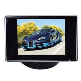 2020 tv lcd car Adeeing 3.5 дюйма 480 * 272 TFT LCD монитор автомобиля Авто TV Автомобильная камера заднего вида монитор Assist резервного копирования обратного DVD экран дешево tv lcd car
