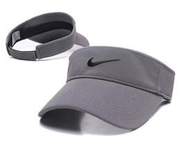 Net vermelho boné vazio marca maré feminino sem top viseira executando esportes tênis chapéu masculino boné de beisebol ins chapéu de sol A1 de