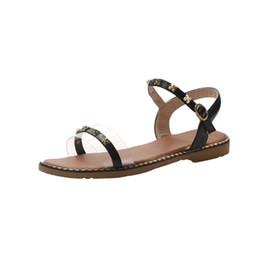 2019 sandalen schuh 2019 fisch mund typ designer rutschen nieten designer sandalen schuhe für freizeit outdoor-mode sexy strand frauen sandalen günstig sandalen schuh