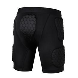 Homens Juventude Esponja De Basquete Segurança Esportes calções calções calções de fivela protetora anti-colisão EVA armadura perna protetor de Fornecedores de camisola coreana da mulher do pescoço redondo