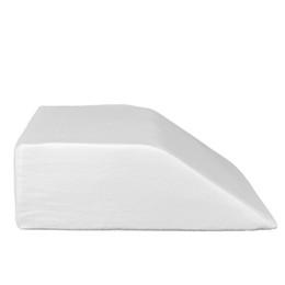 """White pillows online-24 """"21"""" 8 """"Restauración del sueño Espuma de memoria Soporte para las piernas Trapezoide Almohada Alivio para el dolor EE. UU. Blanco"""