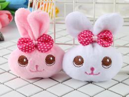 Gran ojo travieso conejo juguete de peluche conejito muñeca teléfono móvil colgante tienda de regalos de boda al por mayor desde fabricantes
