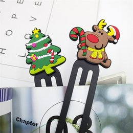 notas da folha Desconto Presentes feitos sob encomenda PVC borracha macia Marcadores criativa Student Desenhos animados Anime Marcadores Plastic Marcadores promocionais personalizados