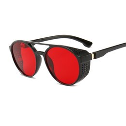 54227b853f2 Vidano Optical designer steampunk sunglasses for men and women retro gothic  fashion glasses unisex round eyewear oculos de sol