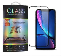 pour iPhone XS Max XR 8 7 plus protecteur d'écran en verre trempé 10D pour iPhone X film de couverture complète avec paquet de vente au détail ? partir de fabricateur