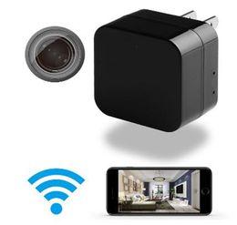 hd caricabatterie Sconti Il nuovo caricatore del telefono cellulare del camuffamento il mini registratore portatile senza fili della macchina fotografica HD della videocamera sostiene il registratore di carta di TF