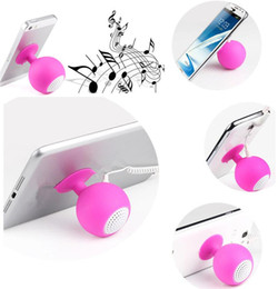 Çok fonksiyonlu Mini Hoparlör Braketleri Mounts 3.5mm Stereo Mikrofon Taşınabilir Cep Cep Telefonu için USB Hoparlör MP3 Müzik Çalar Hoparlör nereden cep telefonu için mini taşınabilir hoparlör tedarikçiler
