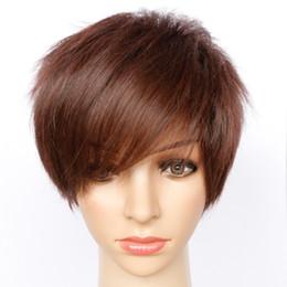haarverlängerungen Rabatt Gute Qualität Haarschmuck 75g 22cm synthetisches Haar tragen braune Zusatzzusätze als Art und Weisefrauenperücken