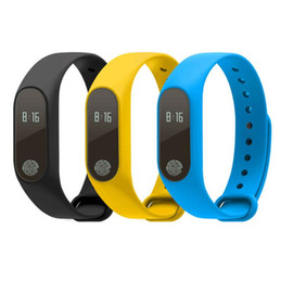 Детские часы для сна онлайн-Горячая M2 Bluetooth 4.0 IP67 водонепроницаемый OLED сенсорный пульс кислорода мониторинг сна будильник дистанционное фото спортивные смарт-часы браслет