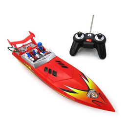 2019 полицейский удаленный автомобиль Flytec HQ5011 Speedboat Infrared Remote Control Boat Nautical Model Water Toy Electric RC Boat