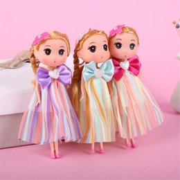 silicone pendants wholesale Promo Codes - 18cm silicone doll cartoon confused doll children's toy pendant Vehicle pendant classic doll creative gift lol