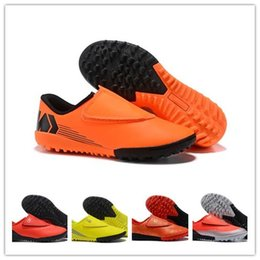 ae1eb0df4 New 2018 CR7 kids Football Boots toddler boys Mercurial Superfly V AG FG  Soccer Children toddler Outdoor Soccer Cleats size 30-35