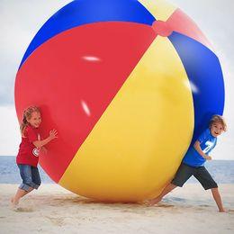 Надувные водные шары онлайн-200 см / 80 дюймов Надувной Пляжный Бассейн Игрушки Водный Мяч Летний Спорт Играть в Игрушки Воздушный Шар На Открытом Воздухе Играть В Воды Пляжный Мяч MMA1892