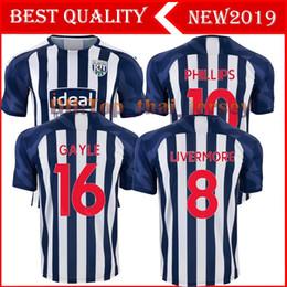 nuevo 19 20 West Bromwich Albion camisetas de fútbol 2019 # 16 Gayle # 19 Rodriguez # 10 Phillips # 8 Livermore Camiseta de fútbol Uniforme de fútbol desde fabricantes