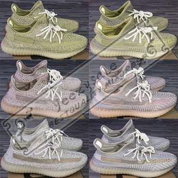 scarpe da pallacanestro onemix Sconti Adidas Yeezy Boost 350 V2 Static Black Reflective Kanye West Antlia Synth Lundmark Gid Glow True Form Clay Zebra Cream Bianco Scarpe da corsa Sneakers di design 5-13