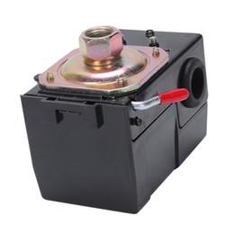 Воздушные компрессорные реле давления онлайн-1 шт. воздушный компрессор переключатель универсальный переключатель давления 95-125 фунтов на квадратный дюйм для воздушного компрессора клапан управления насосом