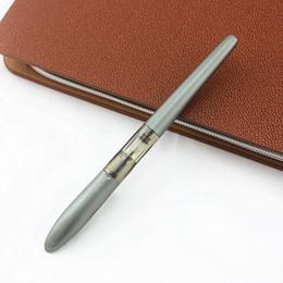 jinhao stahlstift Rabatt Jinhao Luxus 0,5mm Iridium Nib Stahl Füllfederhalter Tintenstifte Freies Verschiffen