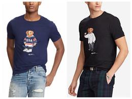 Dropshipping camisetas on-line-2020 tamanho US Polo Urso camisa das mulheres dos homens camiseta tamanho EUA manga curta Hockey UE UK Matini Urso Capitão Poloshirts dropshipping