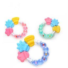 Deutschland Neue Baby, Kleinkind Kinderkrankheiten Kreis Ring Baby Rasseln Beißen Spielzeug Kind Nettes Spielzeug Baby Glocke Großhandel Versorgung