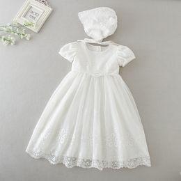 64e09a347fb Discount european baby girl christening dresses - Baby girls long dress  infant kids birthday party christening