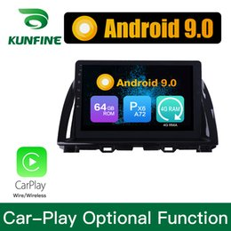 2020 mazda dvd gps bluetooth Android 9,0 Ram 4G Rom 64G PX6 Cortex A72 Auto DVD GPS Multimedia Player Auto Stereo Für Mazda CX5 2015-2017 Headunit günstig mazda dvd gps bluetooth
