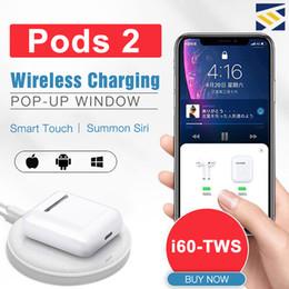 i30 i60TWS Pop Up Pods 2 Utilisation séparée Recharge sans fil Écouteur Casque 6D Super Bass Bluetooth 5.0 Écouteurs PK i20 i10 i12 W1 Puce ? partir de fabricateur