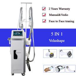 Dispositivo de celulitis cavitación online-Velashape Máquina de reducción de celulitis al vacío Máquina de adelgazamiento Cavitación Estiramiento facial Aspiradora facial Dispositivo de estiramiento de la piel para adelgazar delgado