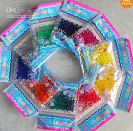 Bolsas de agua caliente envío gratis online-2019 Venta Caliente 3 g / bolsa Crystal Mud Soil Water Beads Flower Planting regalo de Navidad Al Por Mayor Envío gratis