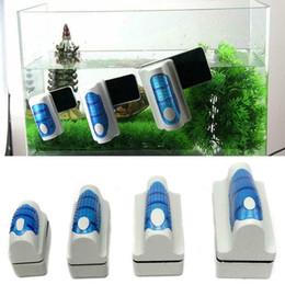 Cepillos de acuario online-cepillo magnético flotador tanque de acuario algas limpiador de vidrio lavador
