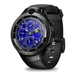 Orologi intelligenti android wifi online-THOR 4 dual LTE 4G WiFi GPS intelligente Guarda 5.0MP + 5.0MP macchina fotografica doppia 1GB16GB / GLONASS Nano SIM BT Smartwatch per / Android