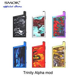 Argentina SMOK Trinity Alpha Mod 25W Batería incorporada de 1000 mAh compatible con el cartucho Trinity Alpha Pod con sistema Open Pod Big y Fire Suministro